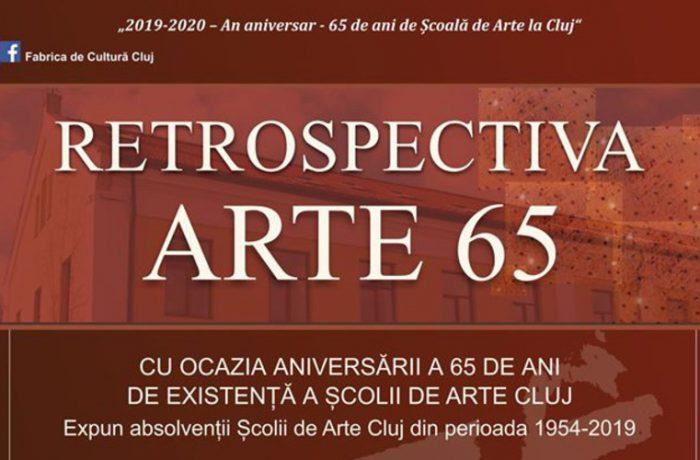 """RETROSPECTIVĂ aniversară la Școala de Arte ,,Tudor Jarda"""" Cluj-Napoca"""