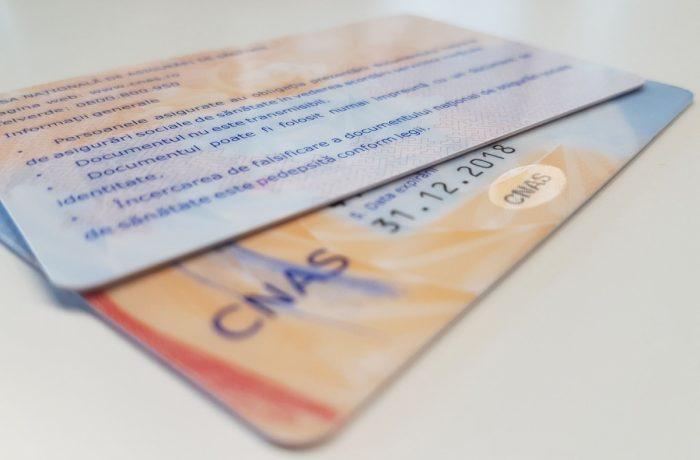 Folosirea cardului de sănătate nu mai este obligatorie în perioada stării de urgenţă