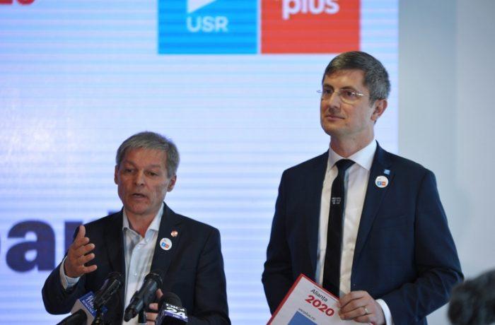 USR a votat fuziunea cu PLUS