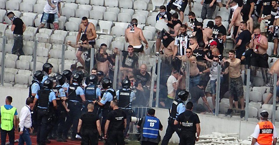 Jandarmeria Română: Violența pe stadioane, în scădere în 2019
