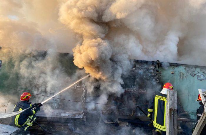 ISU Cluj: a crescut numărul incendiilor de vegetație