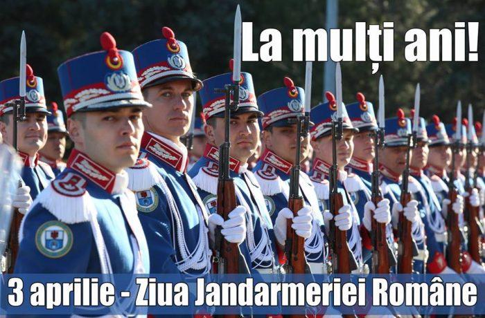 3 Aprilie, Ziua Jandarmeriei Române