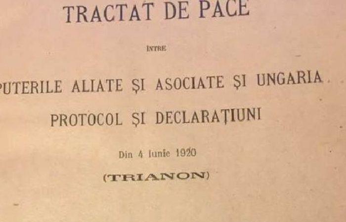 Cornel Itu a votat pentru Ziua Tratatului de la Trianon