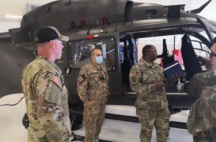 Echipa MApN, care a executat  o misiune în SUA, revine azi acasă