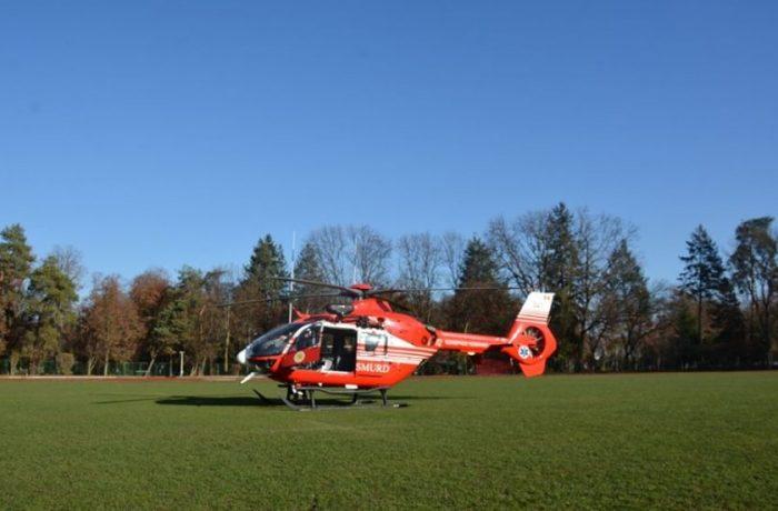 Platformă de aterizare și decolare a elicopterelor SMURD, la Cluj
