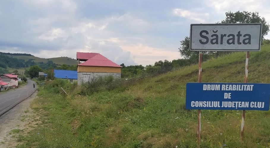 CJ Cluj a finalizat asfaltarea DJ 161, Panticeu-Sărata