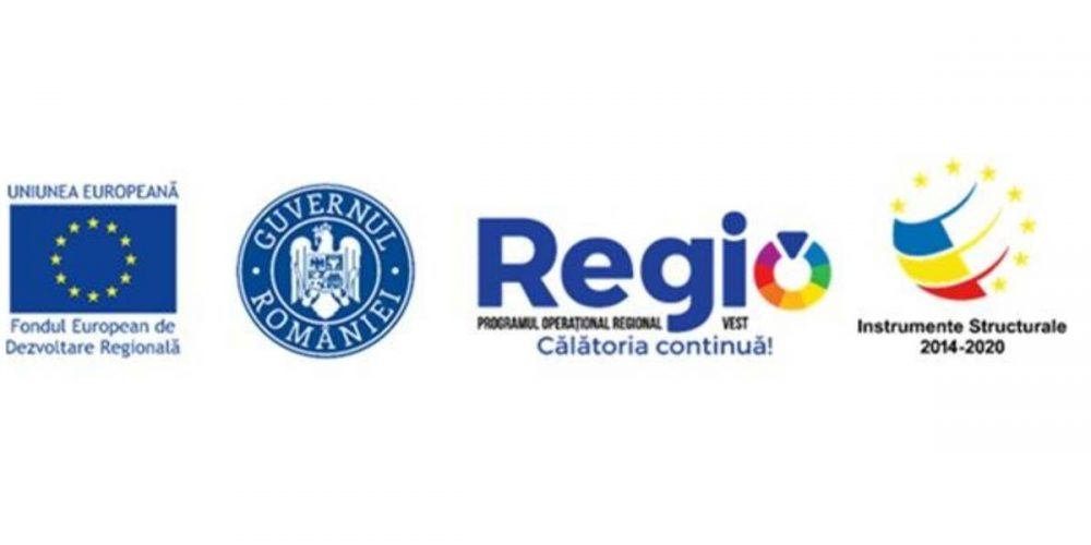Investim în viitorul tău! Proiect cofinanțat din Fondul European de Dezvoltare Regională prin Programul Operațional Regional 2014-2020
