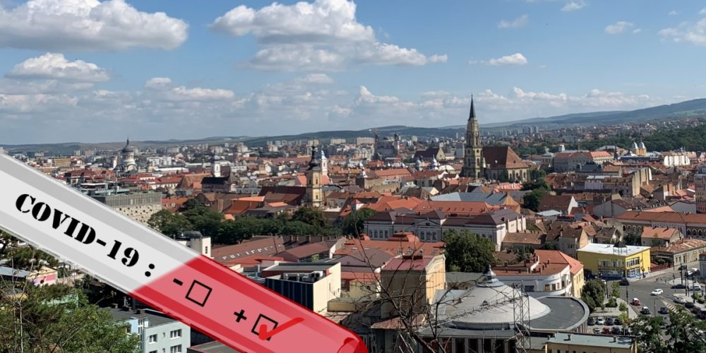 În Cluj-Napoca a fost depășită rata de 1,5 îmbolnăviri cu COVID-19 la mia de locuitori