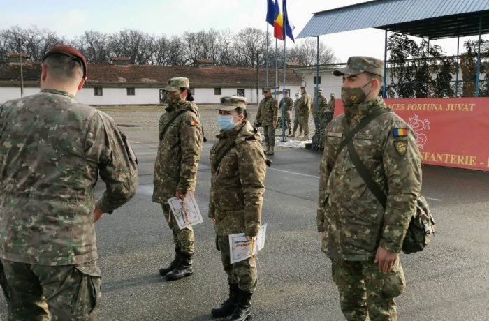"""Batalionul 811 Infanterie ,,Dej"""", 26 de ani de la înființare"""