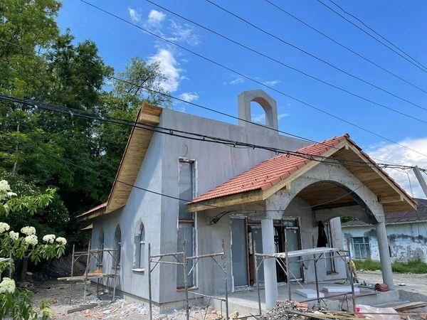 O nouă capelă construită în comuna Mica