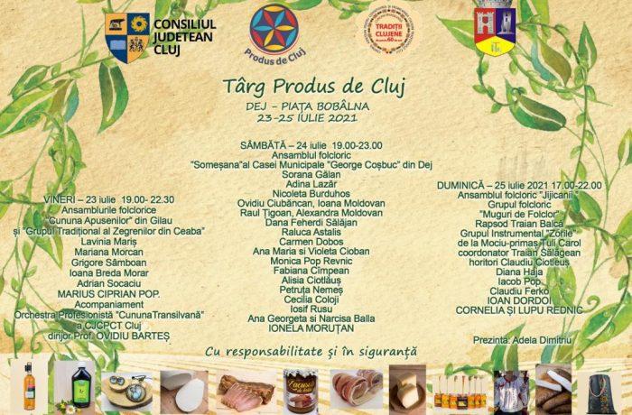 Târgul Produs de Cluj, a IX-a ediție la Dej